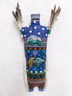 Navajo Yei God Double Spirit Soft Sculpture Doll--Northern Guardians