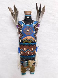 Navajo Yei God Double Spirit Soft Sculpture Doll--Northern Country