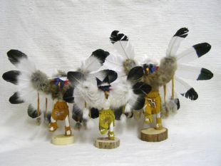 Native American Navajo Made Eagle Kachina Doll