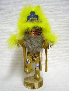 Native American Navajo Made Hemis Kachina Home Dancer Doll
