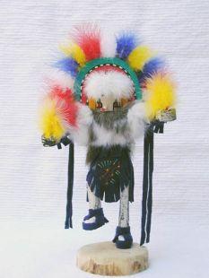 Native American Navajo Made Rainbow Kachina Doll