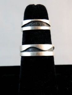 Native American Apache Made Wedding Bands