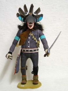 Antique Native American Hopi Carved Ogre Katsina Doll