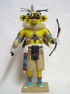 Antique Native American Hopi Carved Chasing Star Planetary Katsina Doll