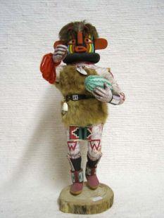 Antique Native American Hopi Carved Heheya Amutaga Katsina Doll