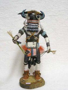 Antique Native American Hopi Carved Whipper Katsina Doll