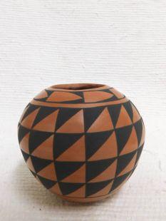 Native American Acoma Handbuilt and Handpainted Small Pot