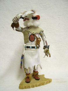 Antique Native American Hopi Carved Bear Katsina Doll