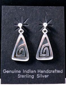 Native American Hopi Made Earrings