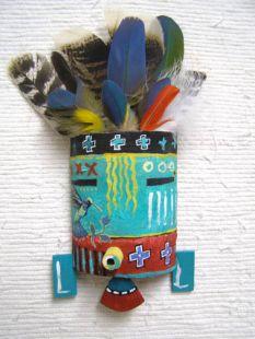 Native American Hopi Made Spirit Mask