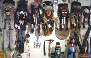 Native American Made Ceremonial Masks