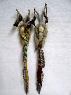 Native American Cherokee Made Animal Skull Trail Marker
