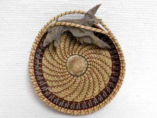 Native American Chippewa Made Basket--Desert