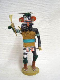 Antique Native American Hopi Carved Warrior Katsina Doll