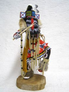 Native American Made Hillili Guard Dancer Katsina Doll