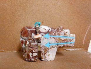 Zuni Carved Bear Fetish