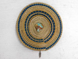 Native American Chippewa Basket