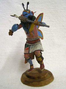 Native American Navajo Carved Hopi Butterfly Dancer Katsina Doll