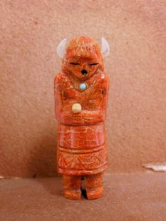 Zuni Carved Buffalo Dancer Fetish