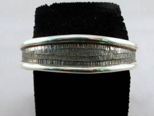 Native American Hopi Made Cuff Bracelet