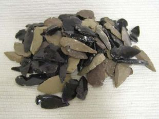 Stone and Obsidian Arrowheads--100 Count