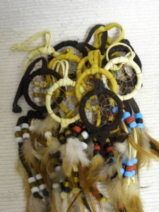 Native American Navajo Made Dreamcatchers