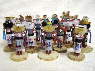 Native American Navajo Made Fancy Tomasina Kachina Dolls