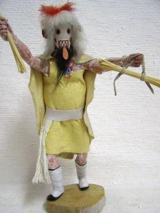 Antique Native American Hopi Carved Cold Bringing Woman Katsina Doll