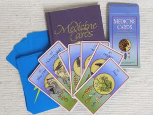 Medicine Cards: The Discovery of Power through the Ways of Animals by Jamie Sams and David Carson