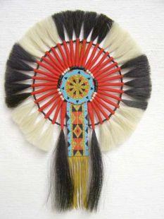 Native American Made Horsehair Bustle