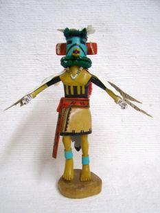 Antique Native American Hopi Carved Eagle Great Spirit Katsina Doll