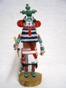 Antique Native American Hopi Carved Cactus Katsina Doll