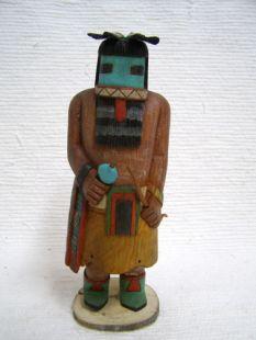 Antique Native American Hopi Carved Longhair Katsina Doll
