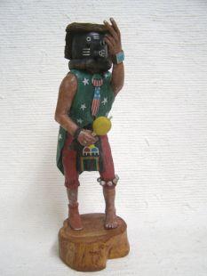 Native American Hopi Carved Mocking Katsina Doll--Boston Marathon