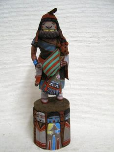 Native American Hopi Carved Grandmother Katsina Doll