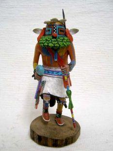 Native American Hopi Carved Malo Katsina Doll