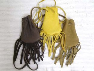 Native American Navajo Made Medicine Bag