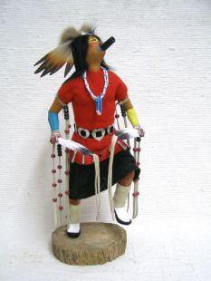 Native American Made Feather Dancer Katsina Doll