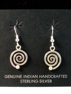 Native American Zuni Made Migration Earrings