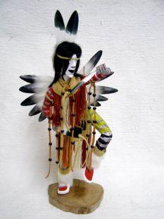 Native American Made Fancy Dancer Katsina Doll