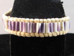 Native American Made Wampum Bracelet