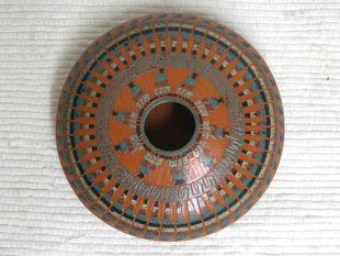 Native American Navajo Red Clay Seed Pot