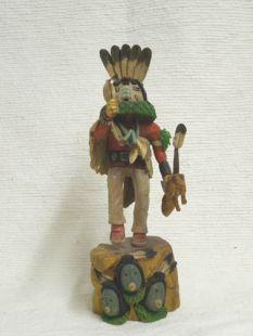 Native American Hopi Carved Navajo Talking God Katsina Doll