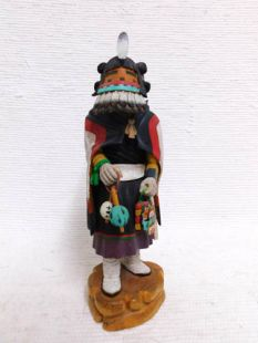 00Vintage Native American Hopi Carved Corn Maiden Katsina Doll