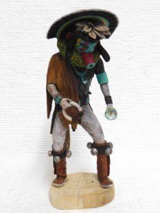 Native American Hopi Carved Laguna Gambler Katsina Doll