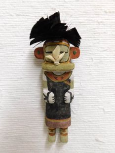 Old Style Hopi Carved Korososta Traditional Planting Katsina Doll
