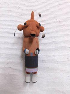 Old Style Hopi Carved Mudhead Traditional Clown Katsina Doll