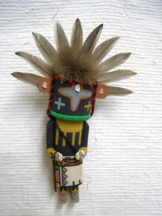 Old Style Hopi Carved Chasing Star Traditional Katsina Doll