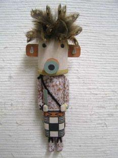 Old Style Hopi Carved Piki Eater Traditional Dancer Katsina Doll