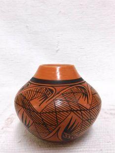 Native American Hopi Handbuilt and Handpainted Traditional Pot
